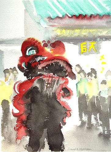 Lion Dance Sheko